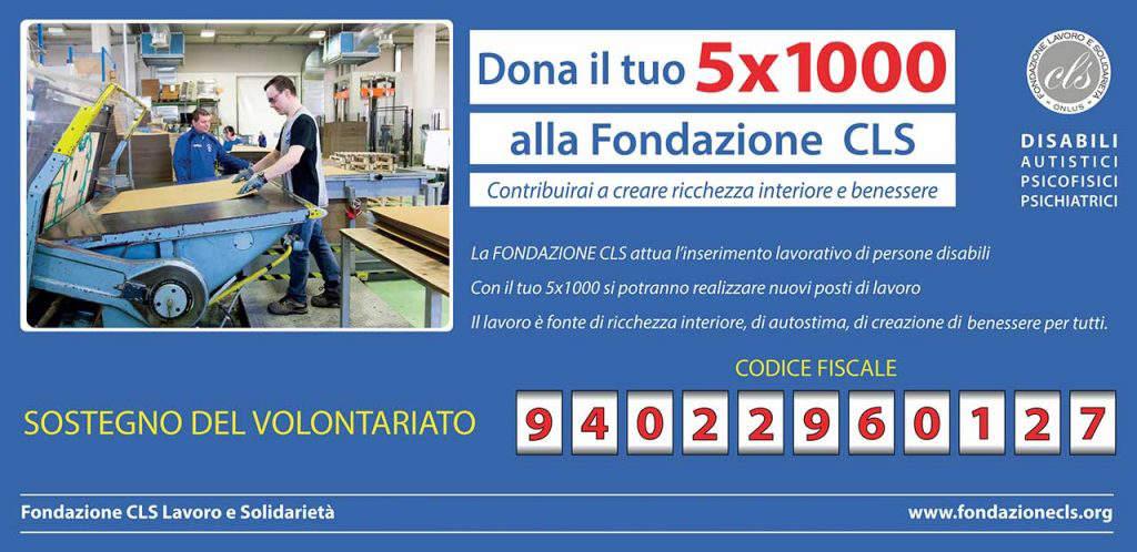 5x1000 Fondazione CLS 2020
